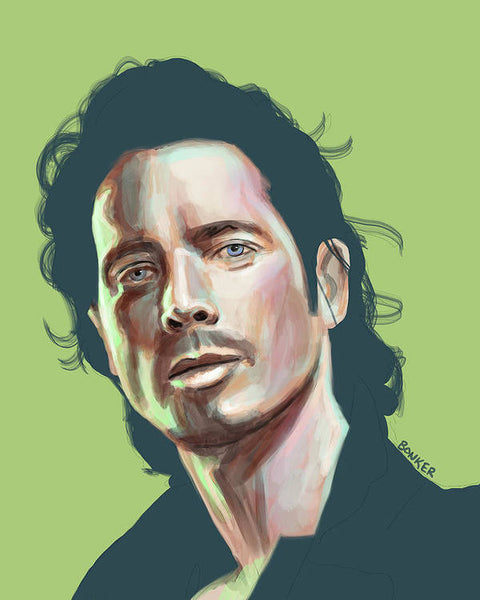 Chris Cornell - Art Print