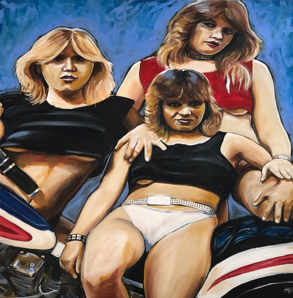 Girlfriends - 48 x 48