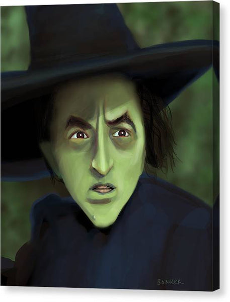 Wicked Witch - Canvas Print