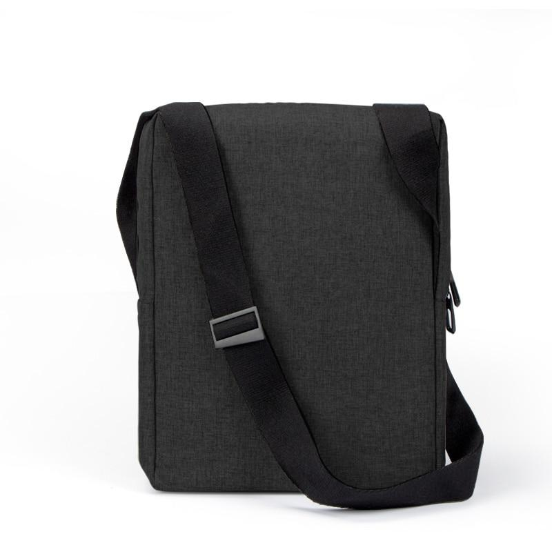 32cm Classic Messenger Shoulder Bag for Office Men Flap Briefcase