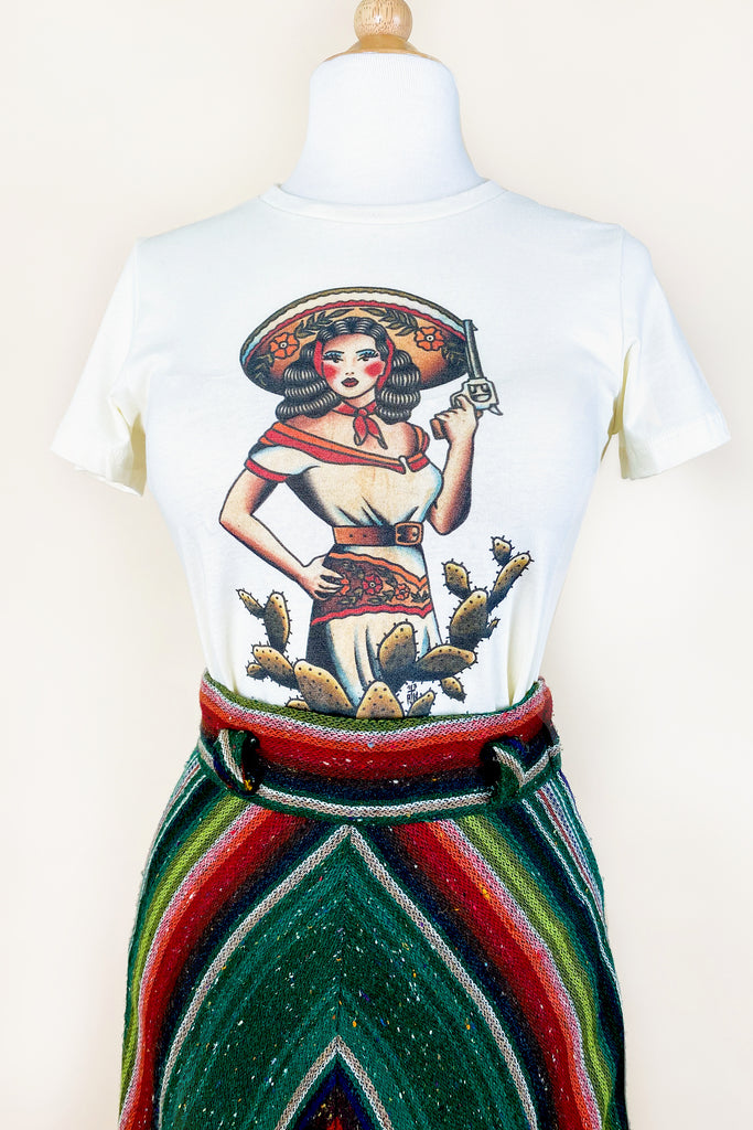 La Ranchera T-shirt in Ivory