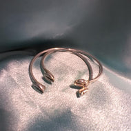 Sterling Silver Baby Bangles