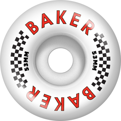 Baker Flag 53mm Wheel