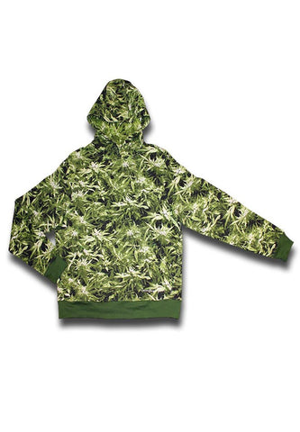 'Canouflage Gear' Hemp Field Hoody