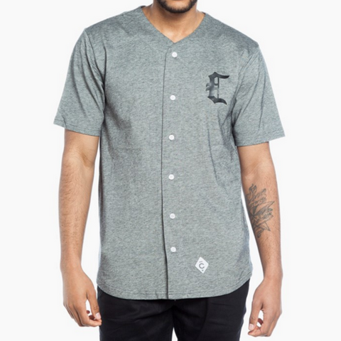 Crooks & Castles - Baseball Black Speckle Shirt