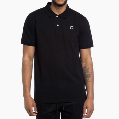 Crooks & Castles - Regal Polo Shirt - Black