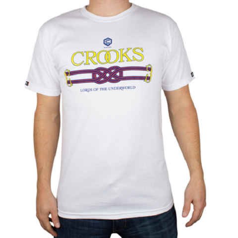 Crooks & Castles - Lords of The Underworld T-Shirt - White