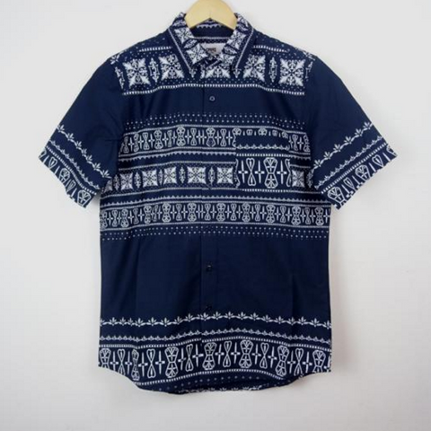Crooks & Castles - Short Sleave Shirt - Native