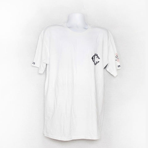 Crooks & Castles Men's Knit Crew T-Shirt Crks Base - White