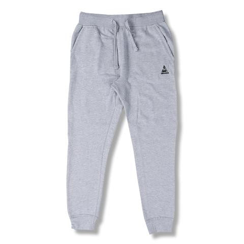Crooks & Castles Core Logo Sweatpants - Heather Grey