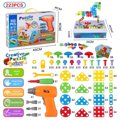 Children Creative 3D Building Set - Build a project