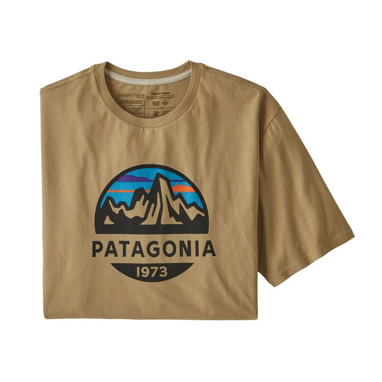 TEE SHIRT FITZ ROY SCOPE ORGANIC HOMME PATAGONIA