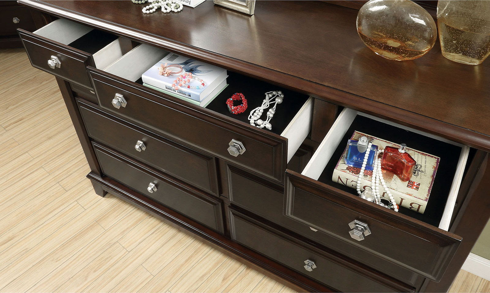 Litchville - Dresser - Brown Cherry
