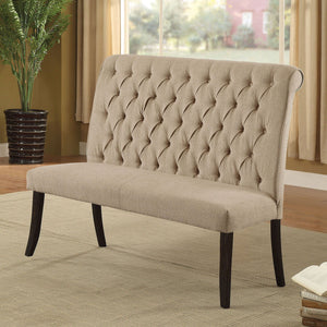 Open image in slideshow, Mashall - Loveseat Bench - Antique Black