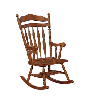 Living Room: Rocking Chairs - Windsor Rocking Chair Medium Brown