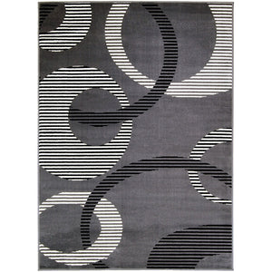 Open image in slideshow, Blitar - Area Rug - Dark Gray