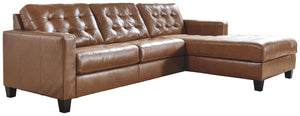 Open image in slideshow, Baskove Sectional with Chaise