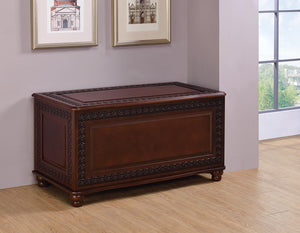 Open image in slideshow, Flip Open Storage Cedar Chest Deep Tobacco