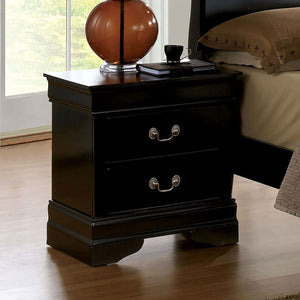 Louis Philippe III - Night Stand - Black