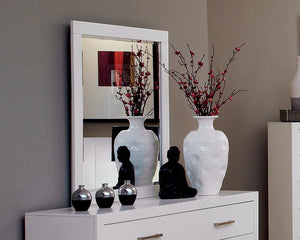 Open image in slideshow, Jessica Collection - Jessica Rectangular Mirror White