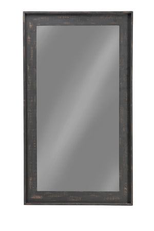 Open image in slideshow, Distressed Brown Accent Mirror