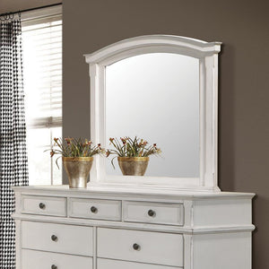 Open image in slideshow, Carolina Collection - Carolina Arched Mirror Antique White