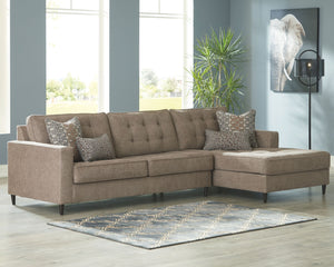Open image in slideshow, Flintshire Sectional with Chaise