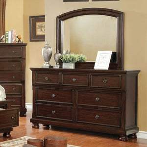 Open image in slideshow, Castor - Dresser - Brown Cherry