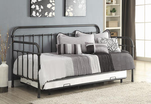 Open image in slideshow, Twin Daybed With Trundle - Daybed With Trundle Dark Bronze