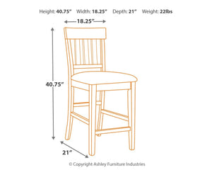 Haddigan Counter Height Bar Stool