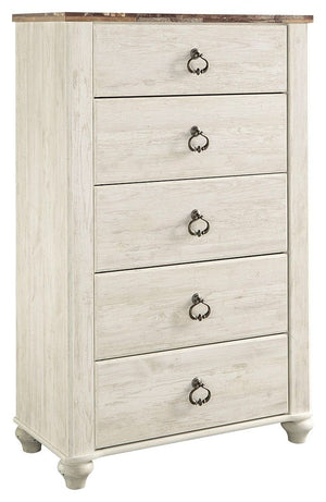 Open image in slideshow, Willowton Chest of Drawers