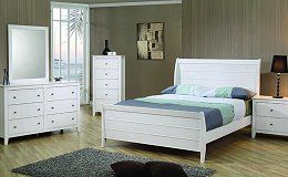 Open image in slideshow, Selena Collection - Selena Twin Sleigh Bed Box Three
