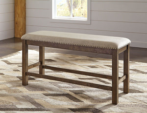 Open image in slideshow, Moriville Counter Height Dining Room Bench