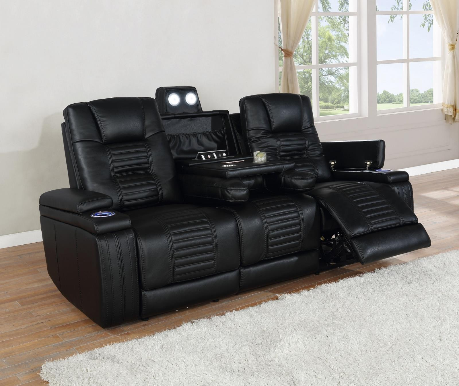Black - Power2 Sofa