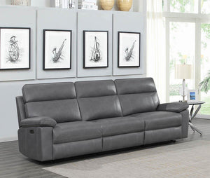 Open image in slideshow, Albany Motion Collection - Grey - 3 Pc Power2 Sofa