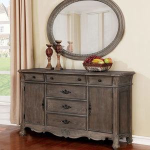 Open image in slideshow, Charmaine - Server - Antique Brushed Gray