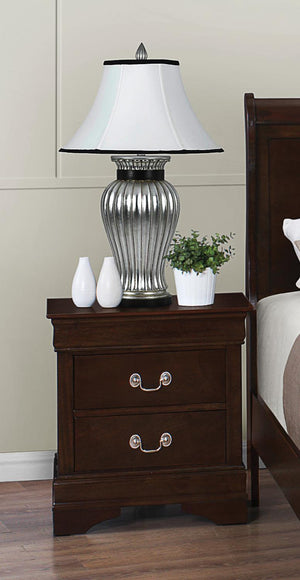 Open image in slideshow, Louis Philippe Collection - Louis Philippe 2-drawer Nightstand Cappuccino