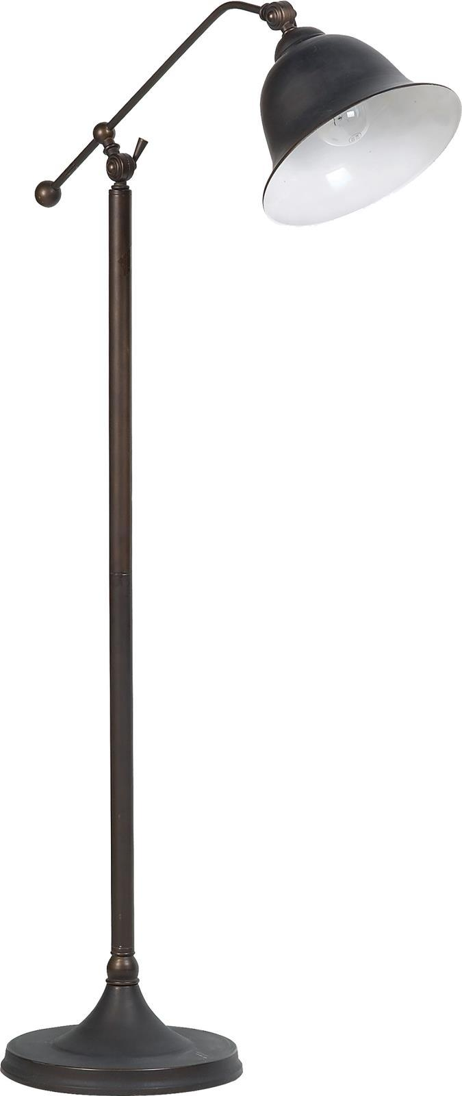 Bell Shade Floor Lamp Dark Bronze