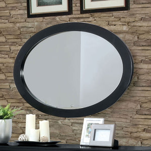 Open image in slideshow, Lennart - Oval Mirror - Black