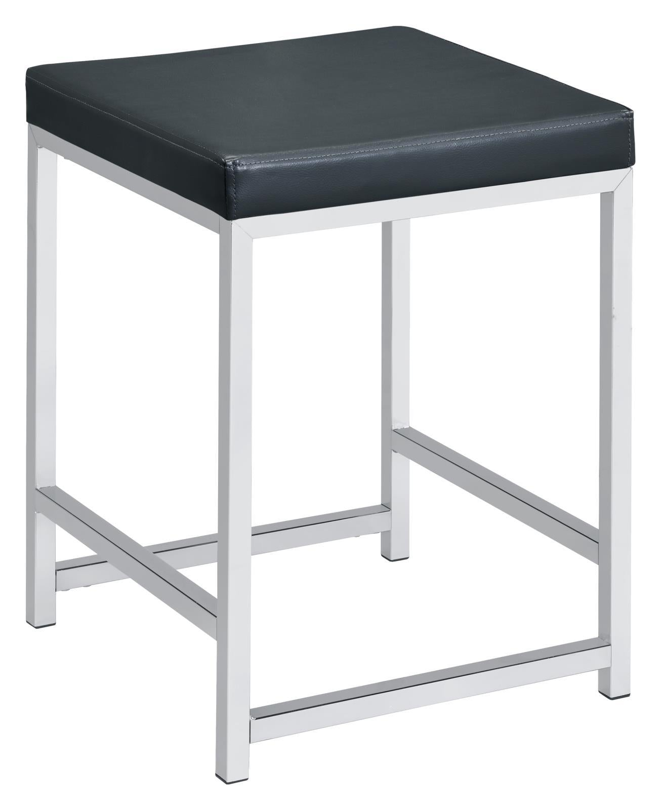Dark Grey - Vanity Stool
