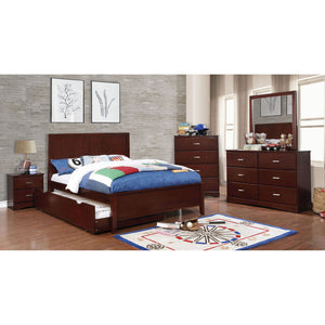 PRISMO - 4 Pc. Twin Bedroom Set - Cherry
