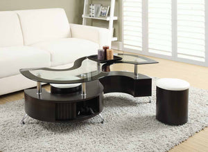 Open image in slideshow, Delange Motion Collection - Delange Motion White Coffee Table Box One