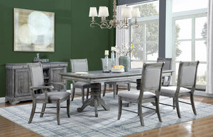 Open image in slideshow, Darcy Collection - Darcy 5-piece Rectangle Dining Set Weathered Ash And Grey