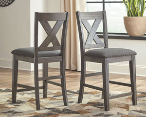 Caitbrook Counter Height Upholstered Bar Stool