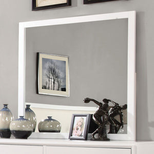 Open image in slideshow, Enrico - Mirror - White