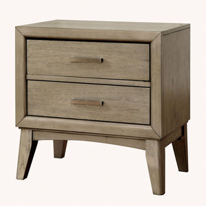Snyder II - Night Stand - Gray