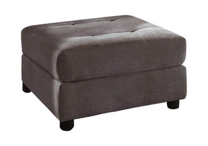 Open image in slideshow, Claude Sectional - Dove - Claude Tufted Cushion Back Ottoman Dove