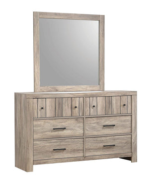 Open image in slideshow, Adelaide Collection - Adelaide Rectangular Mirror Rustic Oak