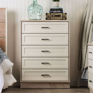 Open image in slideshow, Roseburg - 5-Drawer Chest - Sunbleached