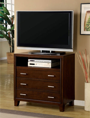Open image in slideshow, Enrico - Media Chest - Brown Cherry